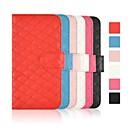 cubierta de cuero patrón de prueba de angibabe con ranura de la tarjeta para el iphone 6