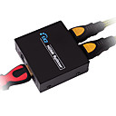 hdmi v1.4 1x2 HDMI Splitter (1 i 2) at støtte 3d 1080p