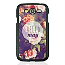 Hello May Leather Vein Pattern Hard Case for Samsung Galaxy Grand Duos i9082