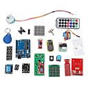 RFID System Learning Kit w/UNO R3 Step Motor RFID Module RFID IC Card RFID IC Keychain Based for Arduino