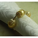Pearl Napkin Ring Many Colors, Acrylic, 4.5CM, Set of 12