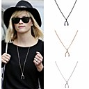 Fashion Women Wish Bone Long Necklace