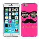 Buy Rose Le Moustache & Glasses Hard Plastic Case Cover iPhone 6 Plus