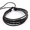 Buy Fashion Simple Multilayer Ethnic Leather Bracelet