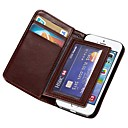 Durable PU Leather Wallet Case for Apple iPhone 5s
