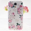 Pink Rose Pattern Embossment Back Case for Samsung Galaxy S4 I9500