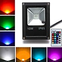 10 W 1 High Power LED 800 LM RGB Remote-Controlled Flood Lights AC 85-265 V