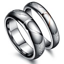 Classic Lovers Tungsten Steel Heart