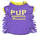 Cute Tassels Cotton T-Shirt for Pets Dogs(Assorted Colors)