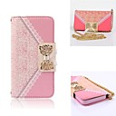 Elegant Design Cute Flip Wallet Leather Case for Full Body Case with Stand Samsung Galaxy S5 (Assorted Colors)