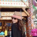האופנה של נשים למנוע כובע קש אור אולטרה סגול