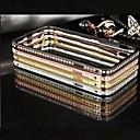 hela himlen stjärnspäckade solid metall stötfångare ram fallet för iphone 6 (blandade färger)