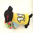 Dog T-Shirt - XS / S / M / L - Winter - Yellow - Cosplay - Cotton