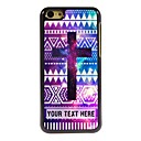 Buy Personalized Phone Case - Purple Cross Design Metal iPhone 5C
