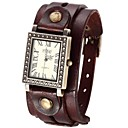 Women's Vintage Style Double Leather Band Quartz Analog Bracelet Watch (Assorted Colors) Cool Watches Unique Watches