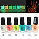 noctilucent nail polish glow-in-scuro (colori assortiti, 6ml)