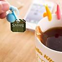 Multifunction Snail Shaped Silicone Material Tea Tool(Random Color/1 PCS)