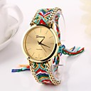 Women Big Circle Dial  National Hand Knitting Brand Luxury Lady Watch C&D-275