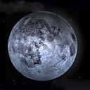 clair de lune de guérison conduit lampe de lune mur avec télécommande