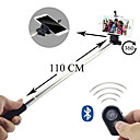 Selfie Extendable Camera Handheld Monopod and Bluetooth Remote Shutter for Android 4.2.2