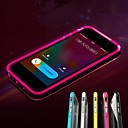 lncoming oproep leidde knipperen transparante TPU Cover Case voor iPhone 6 (assorti kleur)