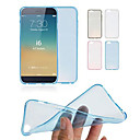 DF 0.3 mm Ultrathin Transparent TPU Soft Case for iPhone 6/6S(Assorted Colors)