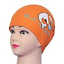 Youyou Kid's Cartoon Waterproof Ear Protection PU Swimming Cap