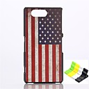 Buy American Flag Pattern PC Hard Case Phone Holder Sony Xperia Z3 Compact/Z3 mini