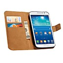 Genuine Leather Wallet Style Case for Samsung Galaxy Grand 2 Duos G7106 (Assorted Colors)