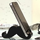 Mustache Shaped Universal Plastic Stand for Samsung iPhone Cellphone(Random Color)