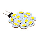 3W G4 LED à Double Broches 12 SMD 5630 270 lm Blanc Chaud / Blanc Froid DC 12 V 10 pièces