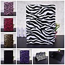 Wkae® Zebra Texture Design Full Body Leather Case with Stand for iPad Air 2(Assorted Colors)