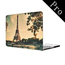 Paris Eiffel Tower Full-Body Protective Plastic Case for MacBook Pro 13