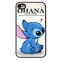 ohana significa hard case de alumínio design para iPhone 4 / 4S