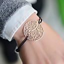 Fashion Women Branch Stamping Elastic Bracelet