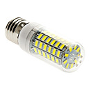E26/E27 15W 69 SMD 5730 1500 LM Warm White / Cool White T LED Corn Lights AC 220-240 V