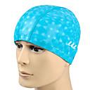 Youyou Unisex Waterproof Ear Protection PU Swimming Cap