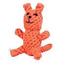 Chiens Jouets Jouets de mastication Corde / Renard Textile Orange