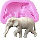 animal de bande dessinée moule en silicone pour la décoration de gâteaux au chocolat savon arts&artisanat