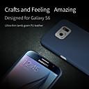 Fullbody Etuier - Samsung Samsung Galaxy S6 - Helfarve - Samsung Mobil - ( Sort/Rød/Blå/Guld , PU Læder )