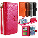 Buy Multi-function PU Leather Flip Cover Wallet Card Slot Case Stand iPhone 6 Plus(Assorted Colors)