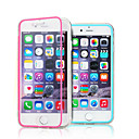 TPU Touch Screen Soft Edge Transparent Acrylic Free Flip Mobile Phone Protective Sleevefor For iPhone 6(Assorted Colors)