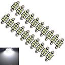 Buy JIAWEN® 2Festoon 36mm 1.5W 6x5050SMD 100-150LM 6000-6500K Cool White Light LED Car (DC 12V)