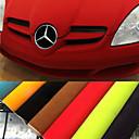 Buy 135*30CM 8 Colors Velvet Fabric Film Suede Car Sticker Interior Body Decoration