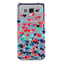 Love Pattern TPU Soft Cover for Samsung Galaxy Grand Prime G530H
