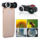 Apexel  4-in-1 2 Fish Eye Lens + 2 in 1 Macro Lens and Wide Angle Lens Phone Camera Lens Kit for iPhone 6 4.7