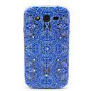 Buy Blue Totem Pattern Diamond Relief TPU Soft Cover Samsung Galaxy Grand Neo I9060/ I9080/I9082