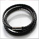 Leather Bracelet Wrap Bracelets Daily/Casual 1pc
