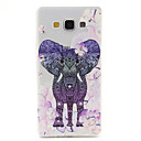 Buy Flowers Elephant Pattern TPU Diamond Relief Back Cover Case Samsung Galaxy A7