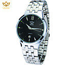 Buy Men's Round Dial Casual Watch Alloy Strap Japanese Quartz Wrist (Assorted Colors)